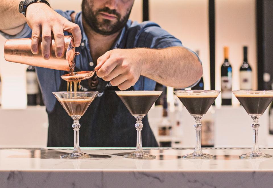 Espresso Martini — with Little Drippa cold drip coffee