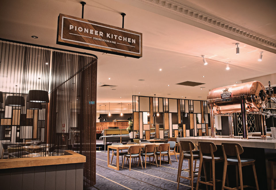 The Pioneer Kitchen - Dining Room & Bar main entry